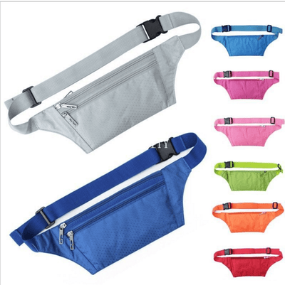 New Waterproof Waist Travel Sport Belt Money Wallet Pouch