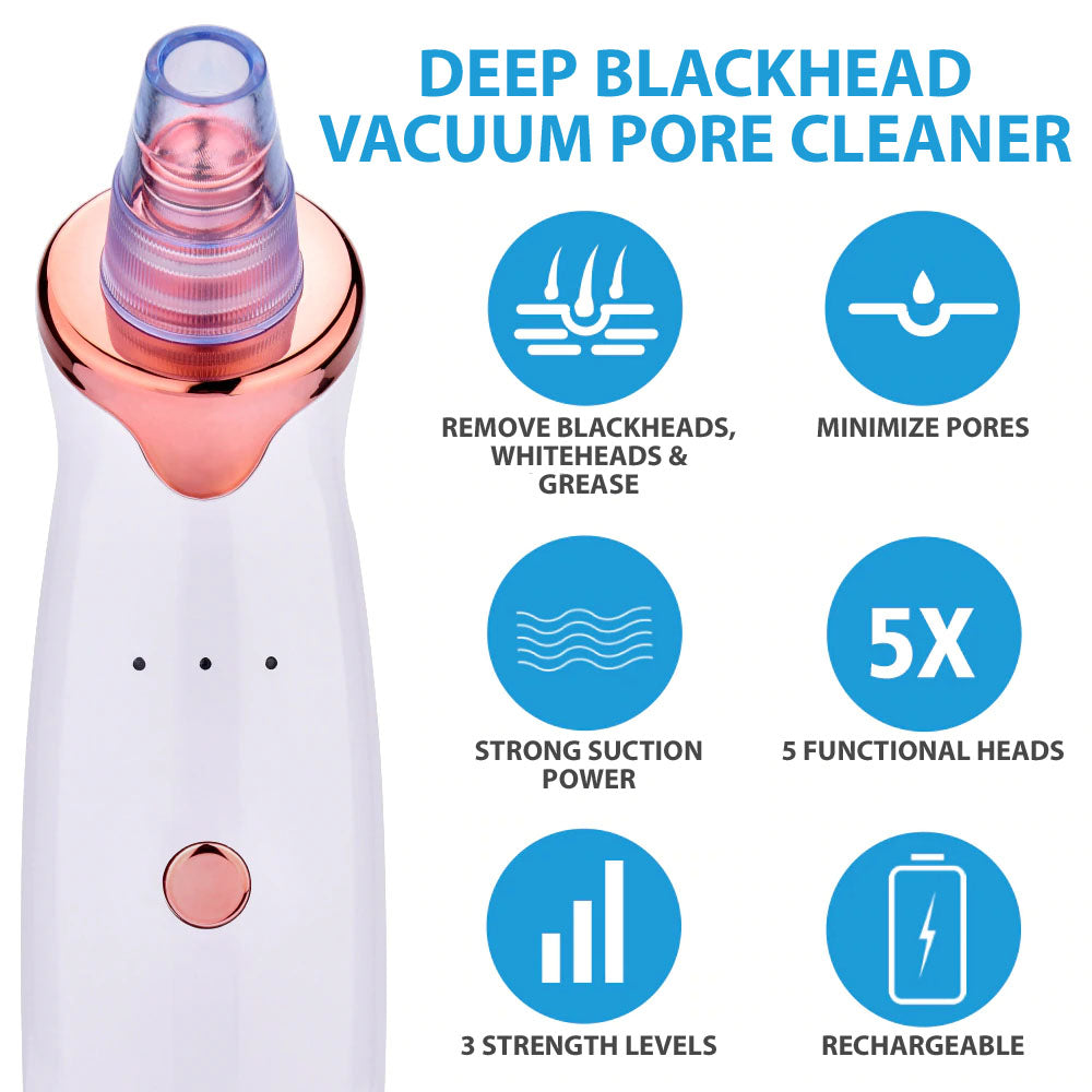 StuffXD.com Deep Pore Blackhead Vacuum Remover Benefits Does It Work