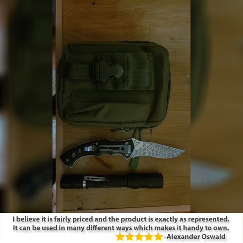 StuffXD.com Multipurpose EDC/CCW Waist Bag Review Alexander Oswald