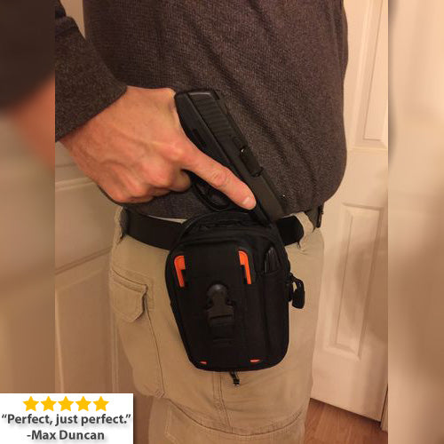 StuffXD.com Multipurpose EDC/CCW Waist Bag Review Max Duncan