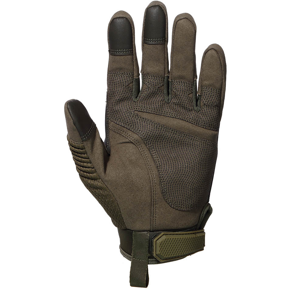 StuffXD.com Touchscreen Capable Protective Gloves Green Palm
