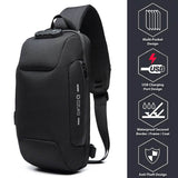 StuffXD.com Anti-Theft Waterproof Chest Bag (USB)