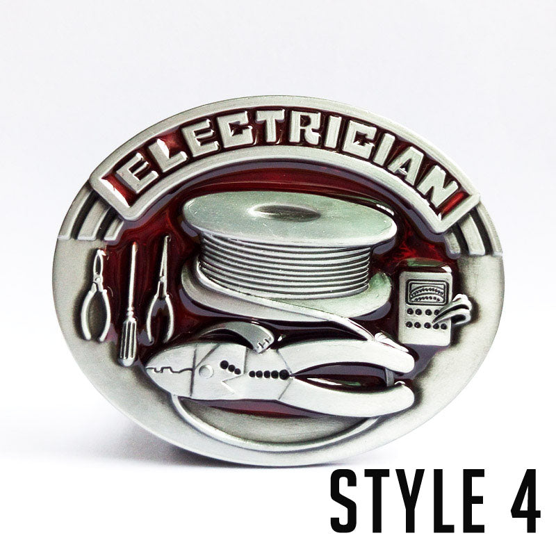 Electrician Belt Buckle