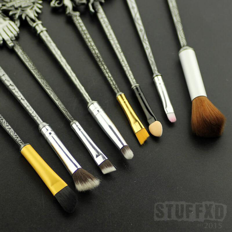 Game Of Thrones Elite Cosmetics Brush Collection (May 2019—limited stock)