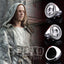 Game Of Thrones Faceless Jaqen H'ghar Valar Morghulis Valar Dohaeris Ring