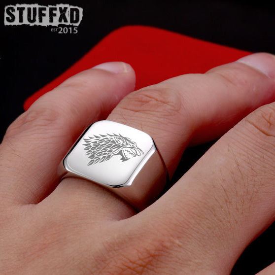 Game Of Thrones House Stark Ring