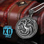Game Of Thrones House Targaryen Disc Necklace