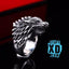 Game Of Thrones Stark Direwolf Ring