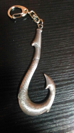 Maui's Magical Fish Hook Keychain/Pendant