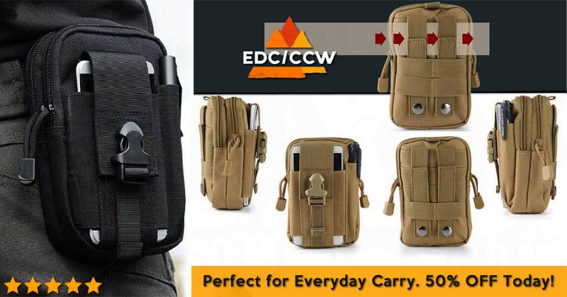 Multipurpose EDC/CCW Waistbag