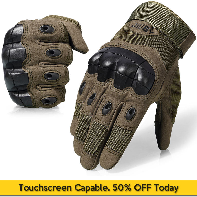 Touchscreen Capable Tactical Gloves