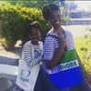 GWB (Green-White-Blue) Tote Bag