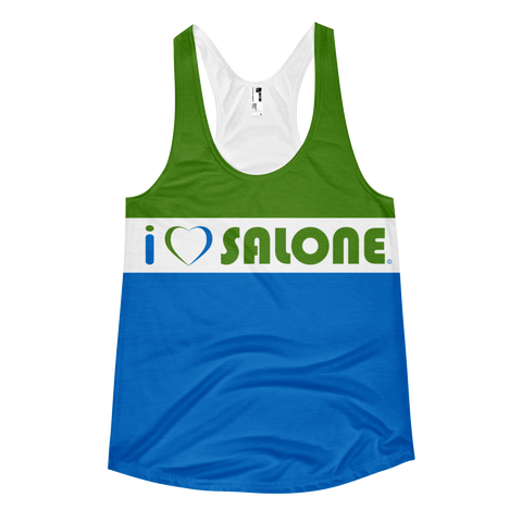 GWB (Green-White-Blue) Women Tanktop