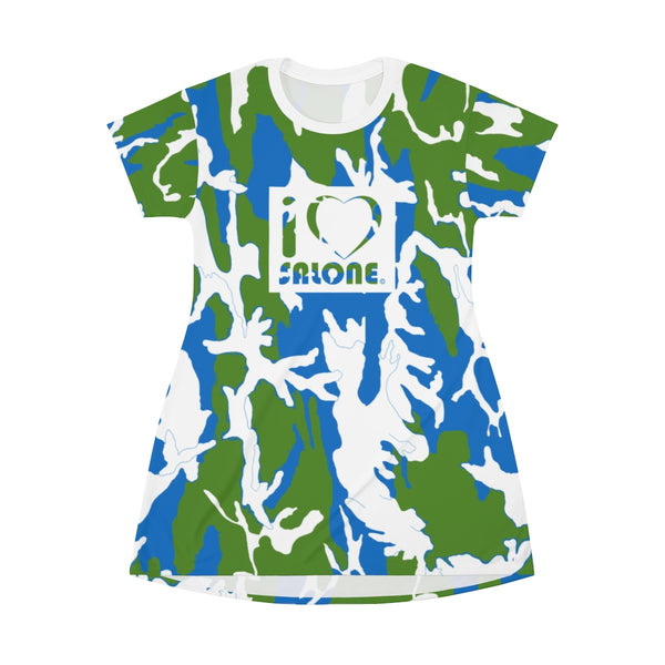 SL Camo T-Shirt Dress