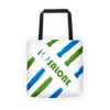 GWB (Green, White & Blue) CONGO CROSS Tote Bag V2