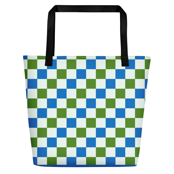 Checkers Beach Bag V2