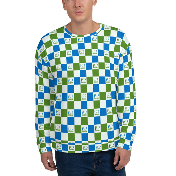 Checkers Unisex Sweatshirt