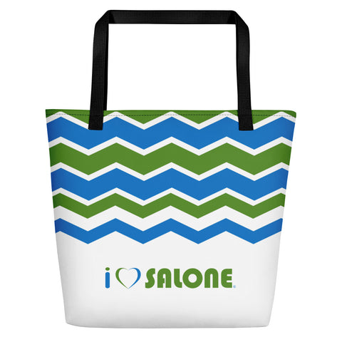 Waves Beach Bag