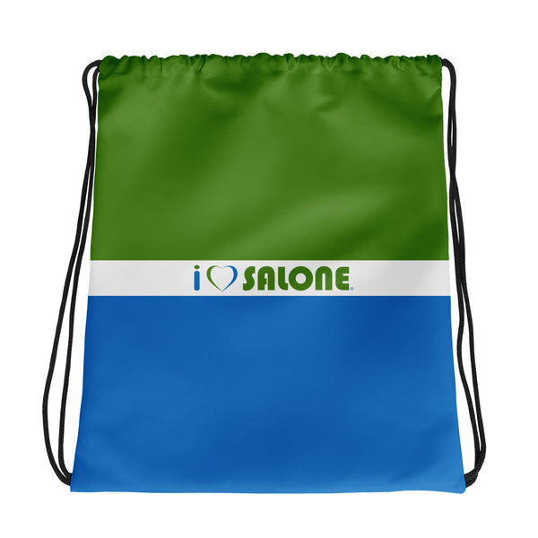 GWB (Green-White-Blue) Drawstring bag