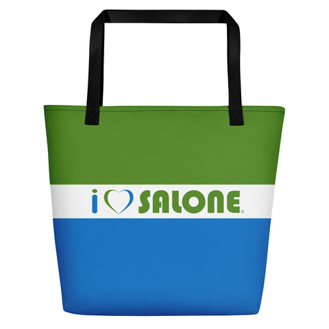 GWB (Green, White & Blue) Beach Bag