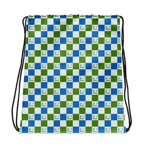 Checkers Drawstring bag