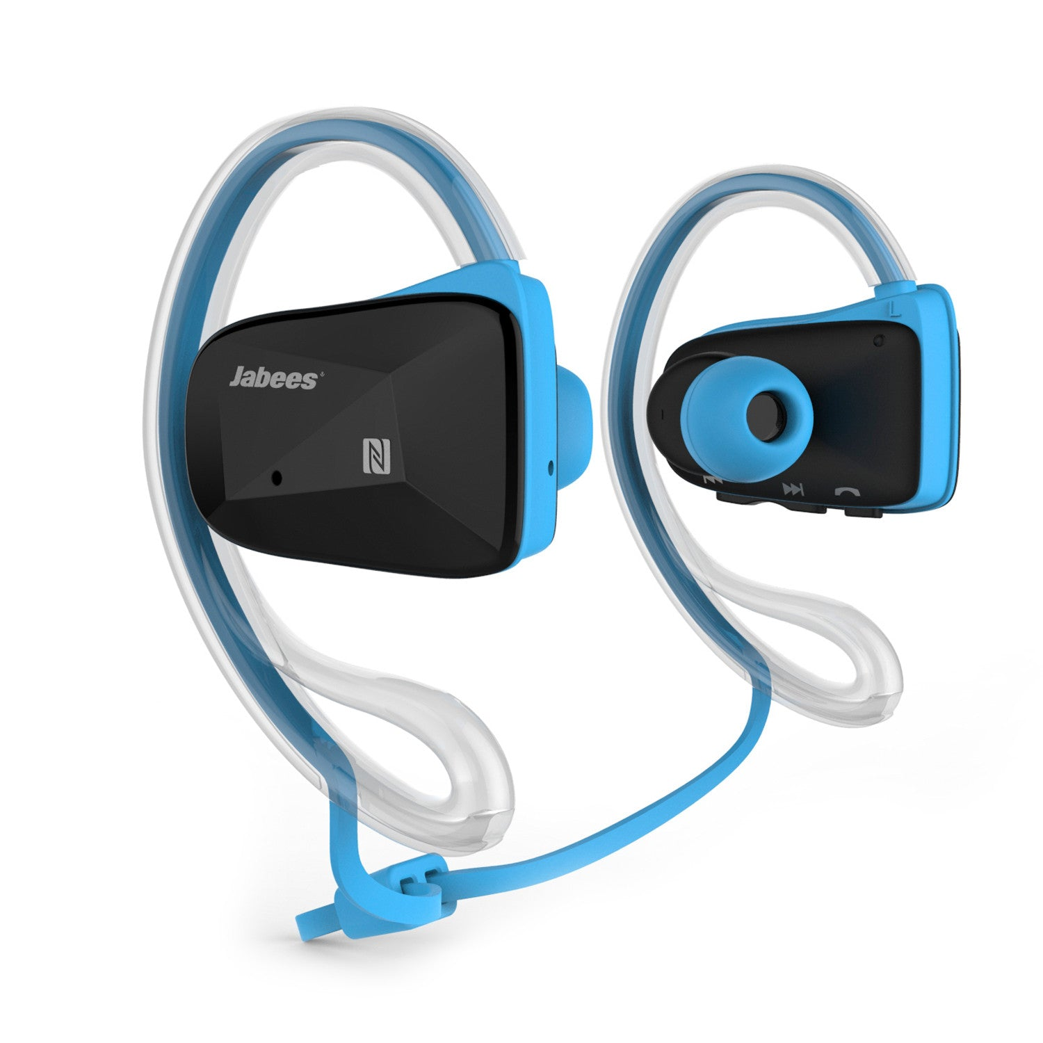 Image of   Jabees Bsport trådløst bluetooth headset - blå