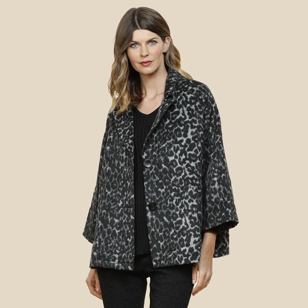 Hammock & Vine Animal Print Jacket
