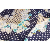 Polka Dot Flower Silk Lightweight Scarf  - Melange Chic - 2