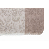 Traditional Cream Jacaqard Cashmere Scarf  - Melange Chic - 4