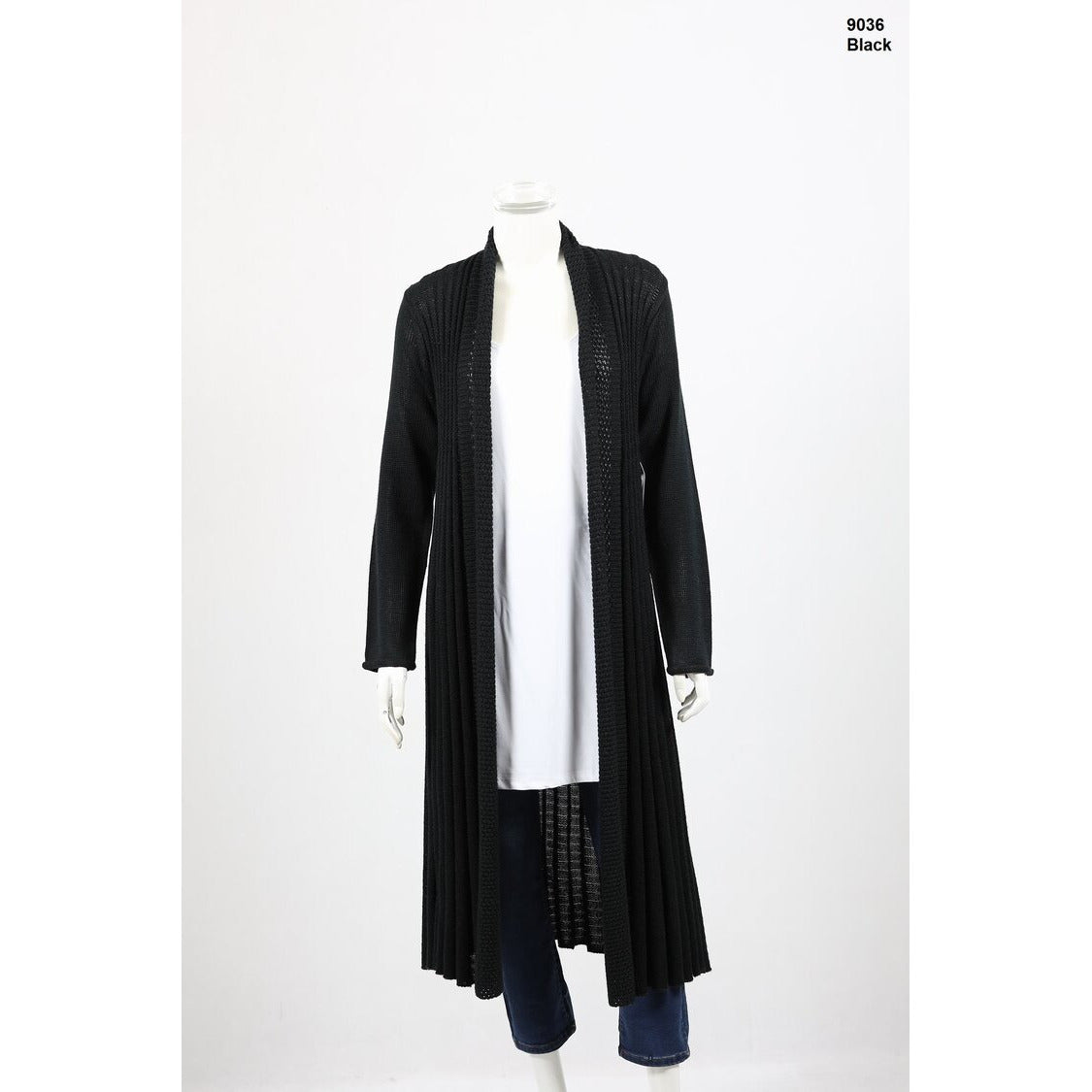 Whispers - Long Wool Blend Cardi