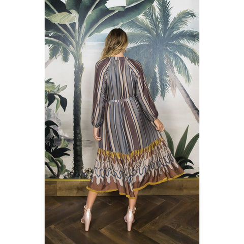 Anannasa - Taj Shirt Dress with Sash