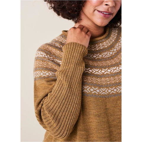 uimi - Alice Fairisle Jumper Nutmeg