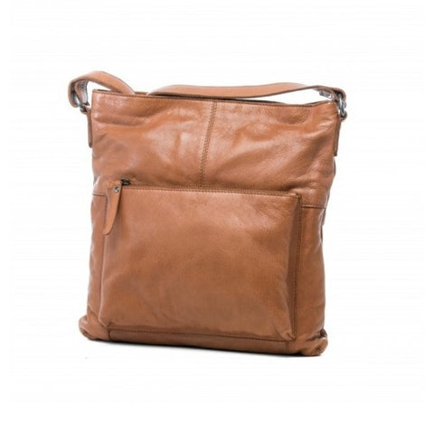 Fullgrain Almond Ladies Sling Bag