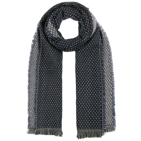 Navy - Two Sides Women´s Scarf