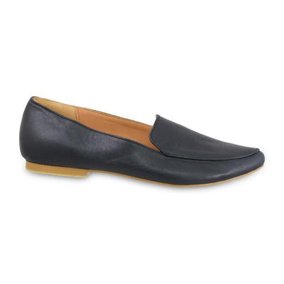 Shoe Shu - Black Leather Loafers