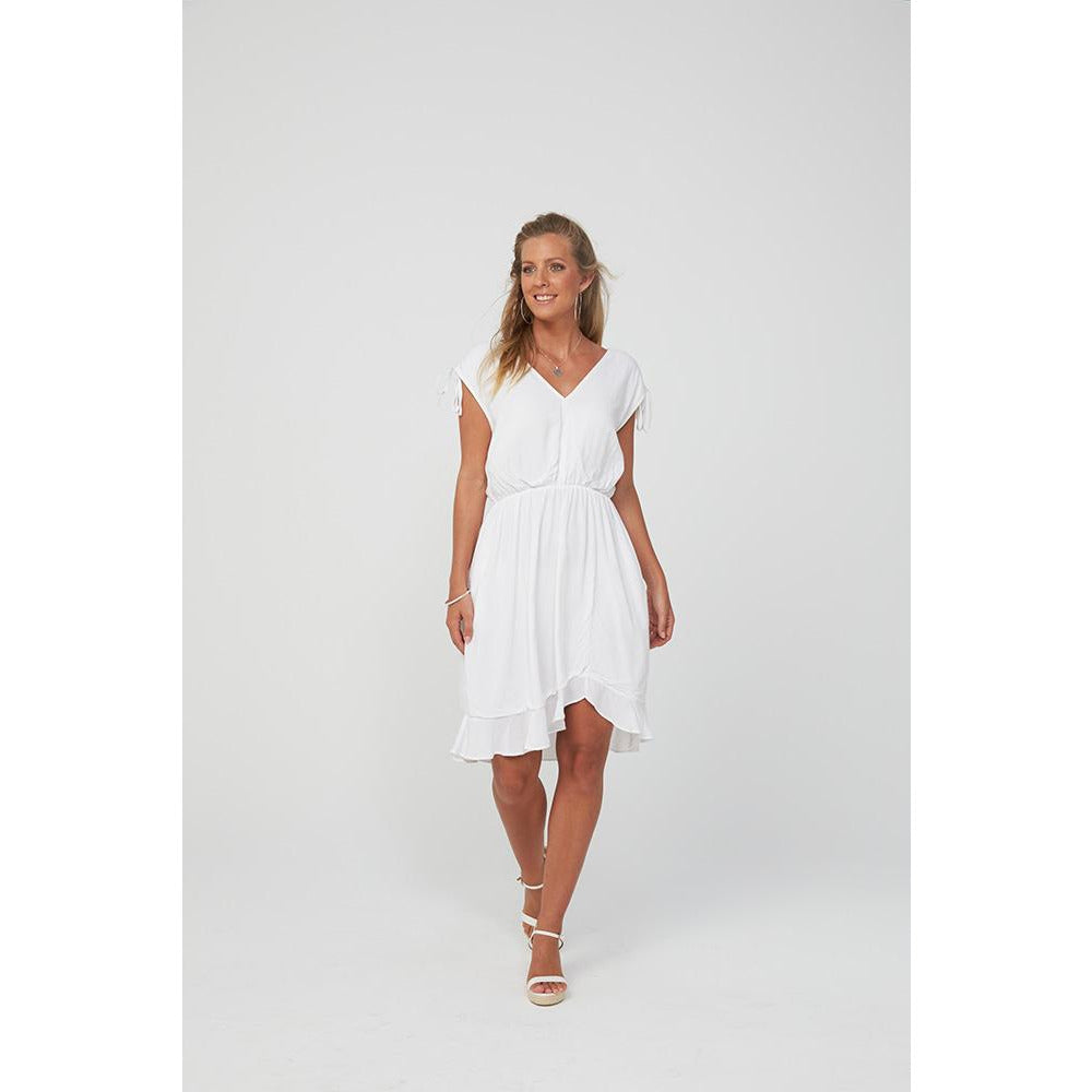 Kaja - Bobbi Dress White