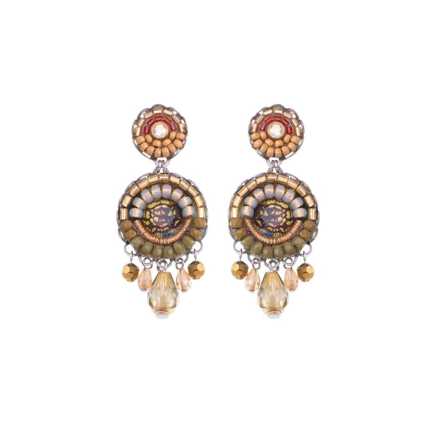 Ayala Bar - C1294 Shifting Sands Agave Earrings