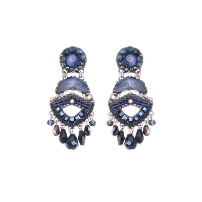 Ayala Bar - C1317 Love Jet Julie Earrings