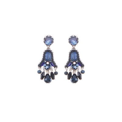 Ayala Bar - C1320 Love Jet Comel Earrings