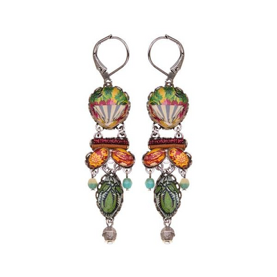 Ayala Bar - R1576 Radiance Floral Bucket Earrings