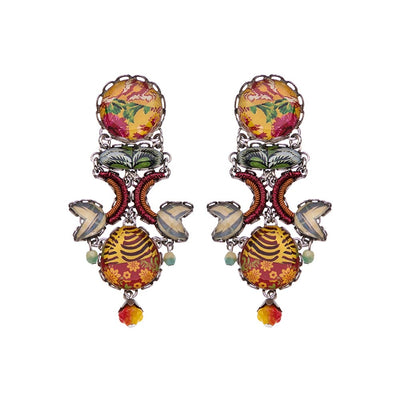 Ayala Bar - R1574 Radiance Floral Bucket Earrings