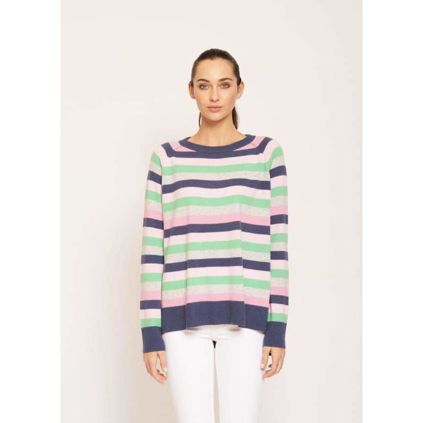 Candy Shop Cashmere Sweater in Nautical