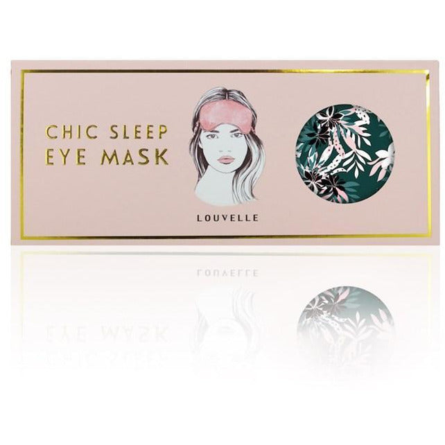 Louvelle Chloe Eye Mask in Alpine Flower