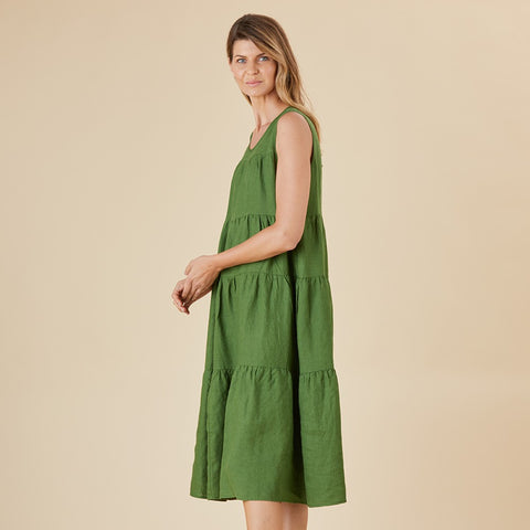 Tears for Fears Cruz Linen Dress