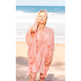 Pink Cotton Kaftan