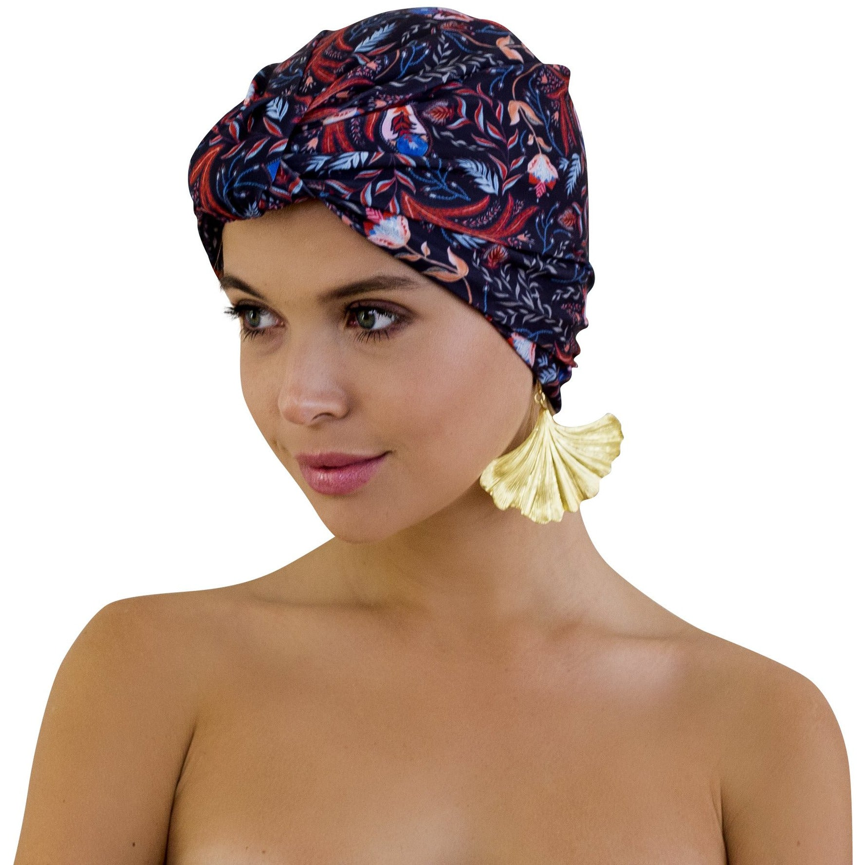 Louvelle dahlia shower cap gypsy princess