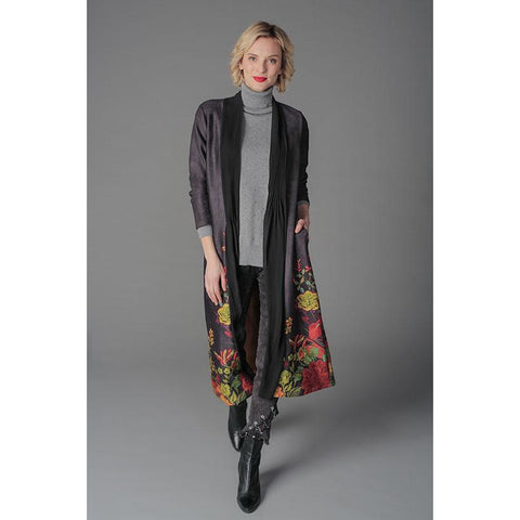 Gabby Isabella - Long Draped Jacket