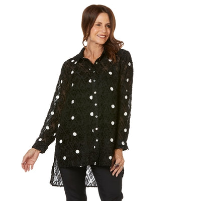 Hammock & Vine - Spot On Embroidered Shirt