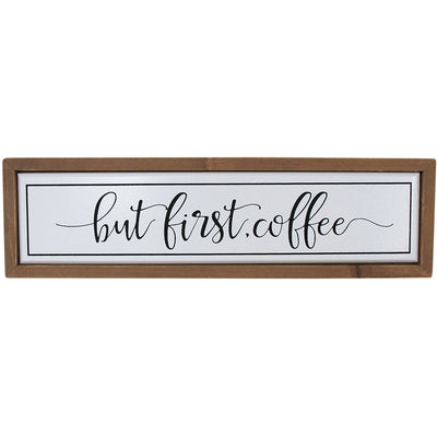 Wall Art - First Coffee