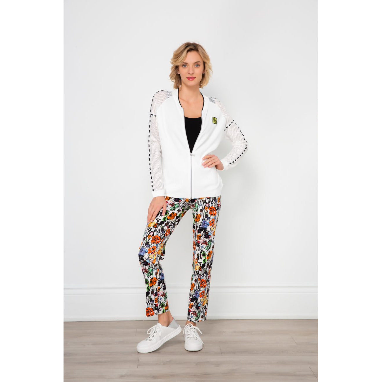 Spanner Tummy Control Floral Print Pants